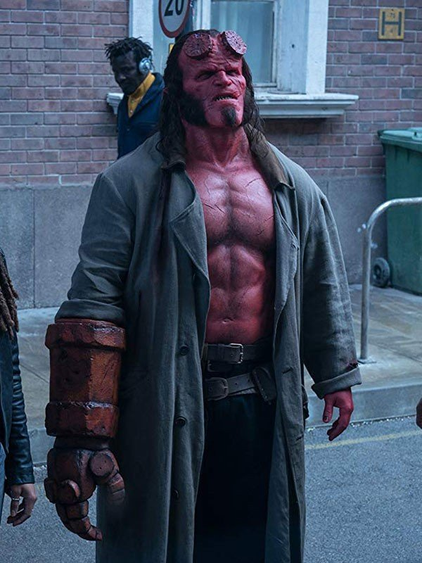 Hellboy Cotton Trench Coat