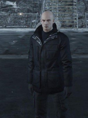 Hitman Agent 47 Rupert Friend Black Jacket