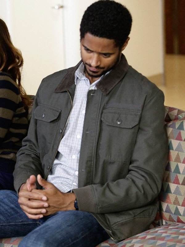 How to Get Away with Murder Alfred Enoch Grey Cotton Jacket