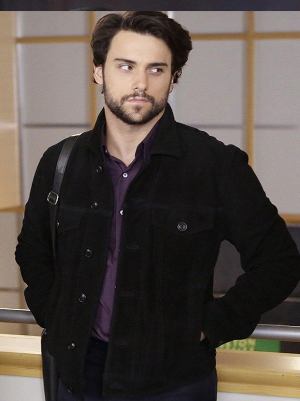 How to Get Away with Murder Connor Walsh Black Cotton Jacket