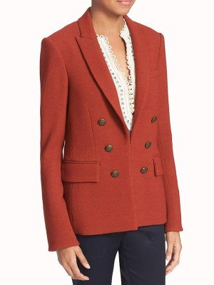 Bonnie Winterbottom Orange Blazer