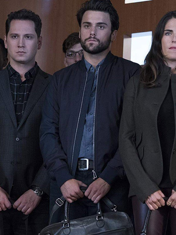 Jack Falahee Bomber Jacket from How to Get Away with Murder