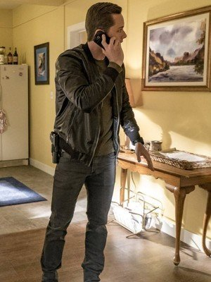 Detective Jay Halstead Chicago P.D Leather Jacket