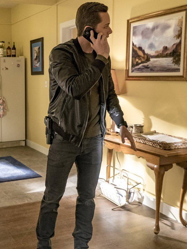 Jesse Lee Soffer Leather Jacket from Chicago P.D