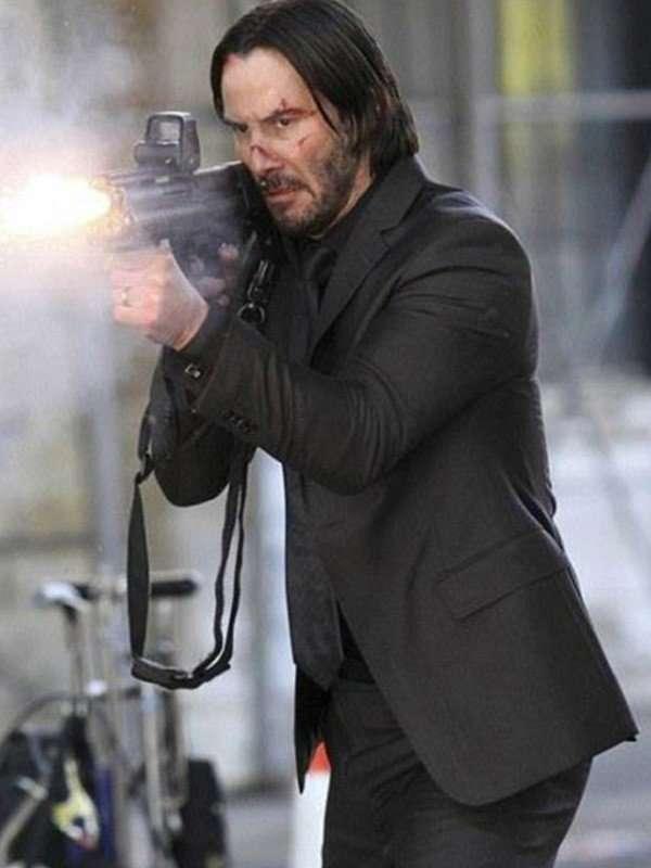 John Wick Black Suit