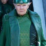 Judi Dench Trench Coat from Artemis Fowl