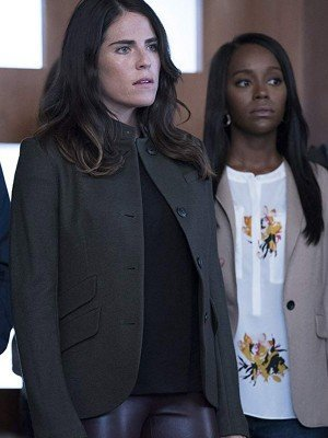 Laurel Castillo How to Get Away with Murder Cotton Jacket