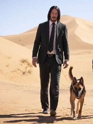 John Wick Keanu Reeves Black Suit