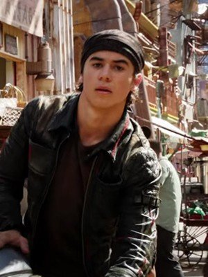 Alita Battle Angel Keean Johnson Leather Jacket