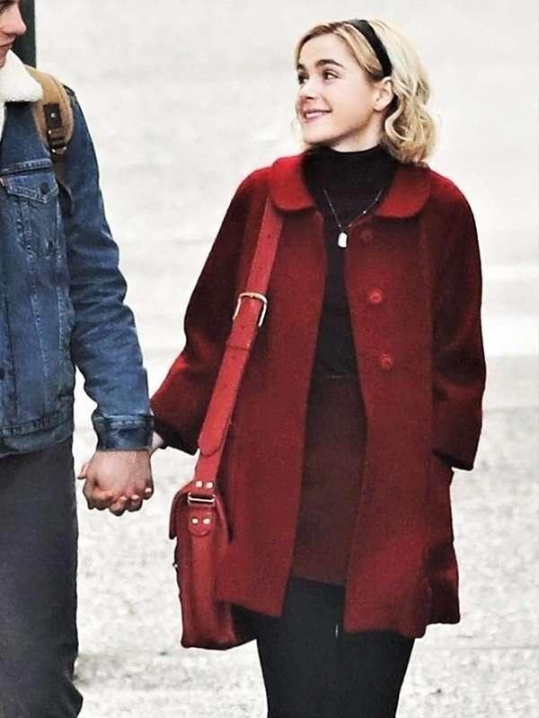 Kiernan Shipka Wool Coat from Chilling Adventures of Sabrina