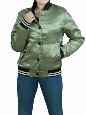 Killing Eve Villanelle Bomber Varsity Jacket