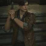 Leon Scott Kennedy Resident Evil 2 Leather Jacket