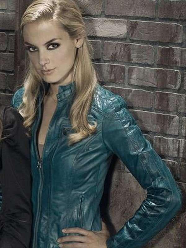Lost Girl Rachel Skarsten Blue Jacket