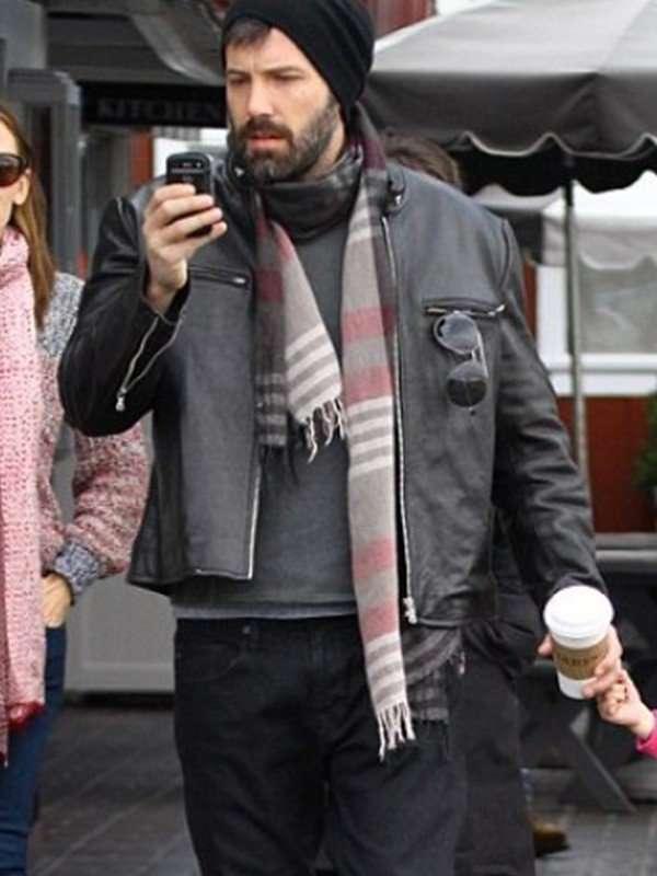 Mens Ben Affleck Leather Jacket