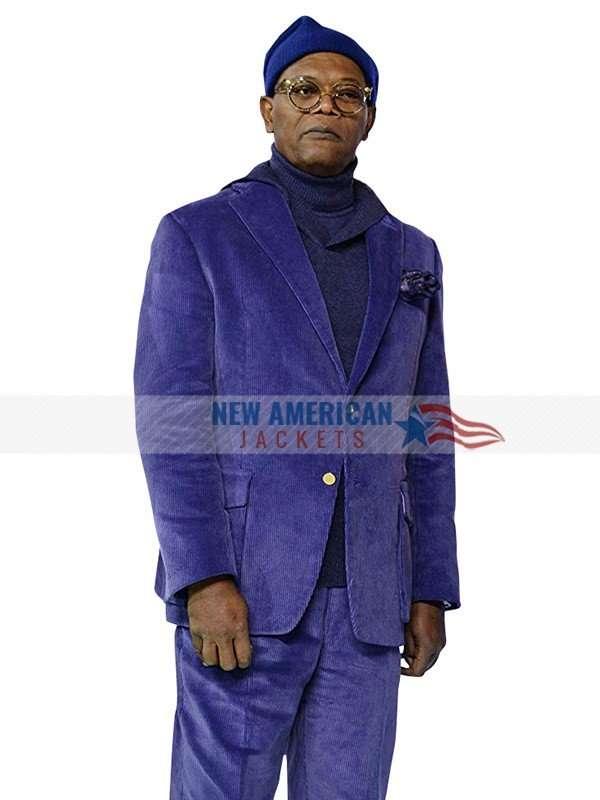 Mr. Glass Purple Blazer