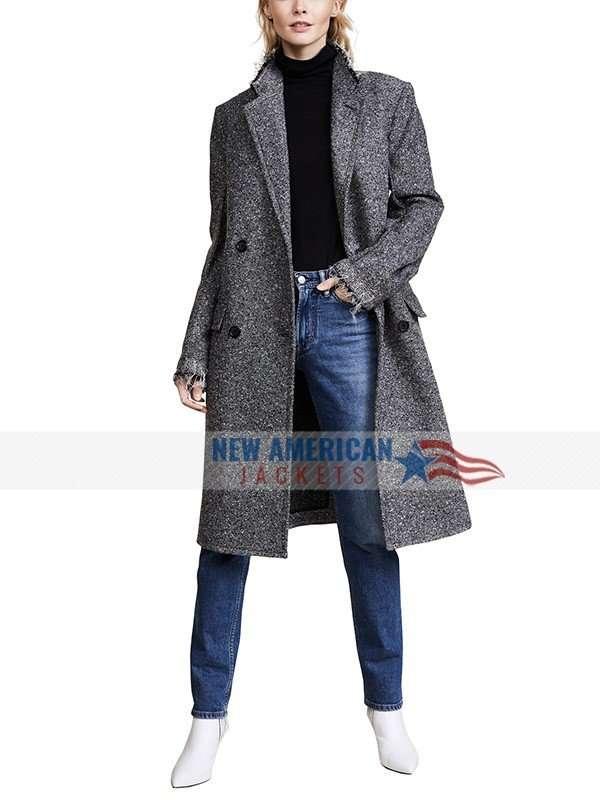 Nadia Vulvokov Russian Doll Grey Coat