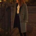 Nadia Vulvokov Russian Doll Grey Wool Coat