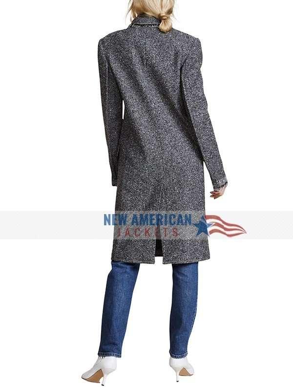 Natasha Lyonne Russian Doll Wool Coat