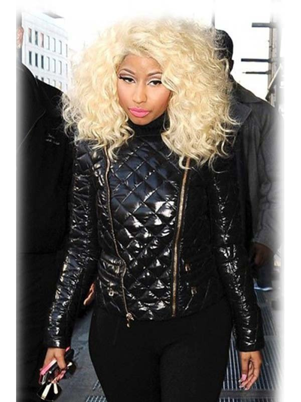 Nicki Minaj Black Jacket