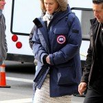 Nicole Kidman The Goldfinch Mrs Barbour Nylon Coat