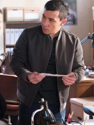 Oliver Hampton How to Get Away with Murder Cotton Jacket