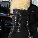 Quilted Black Jacket of Nicki Minaj