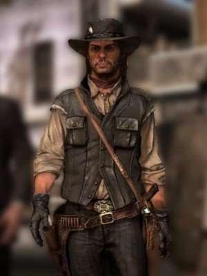 Red Dead Redemption ll John Marston Vest