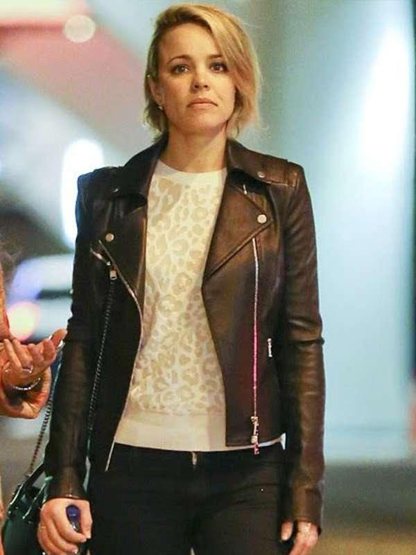Rachel McAdams Leather Jacket for Women