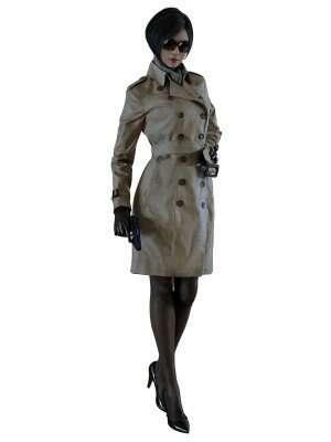 Ada Wong Resident Evil 2 Trench Coat