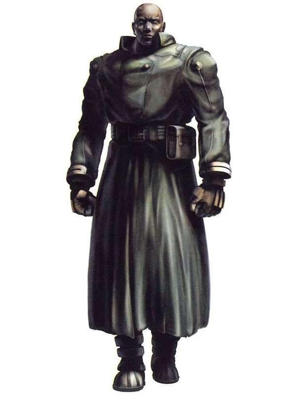 Resident Evil 2 Tyrant Black Trench Coat