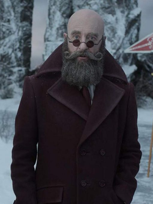 Richard E. Grant Wool Coat from A Series of Unfortunate Events