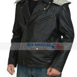 Robot man Doom Patrol Black Leather Jacket