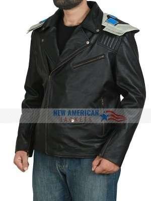 Doom Patrol Brendan Fraser Black Leather Jacket