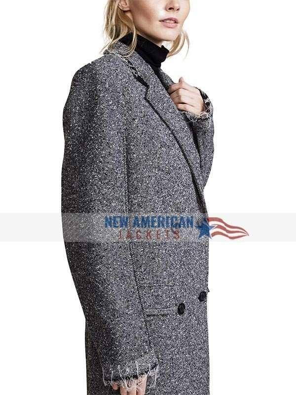 Russian Doll Grey Coat