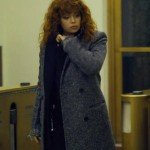 Russian Doll Natasha Lyonne Grey Wool Coat