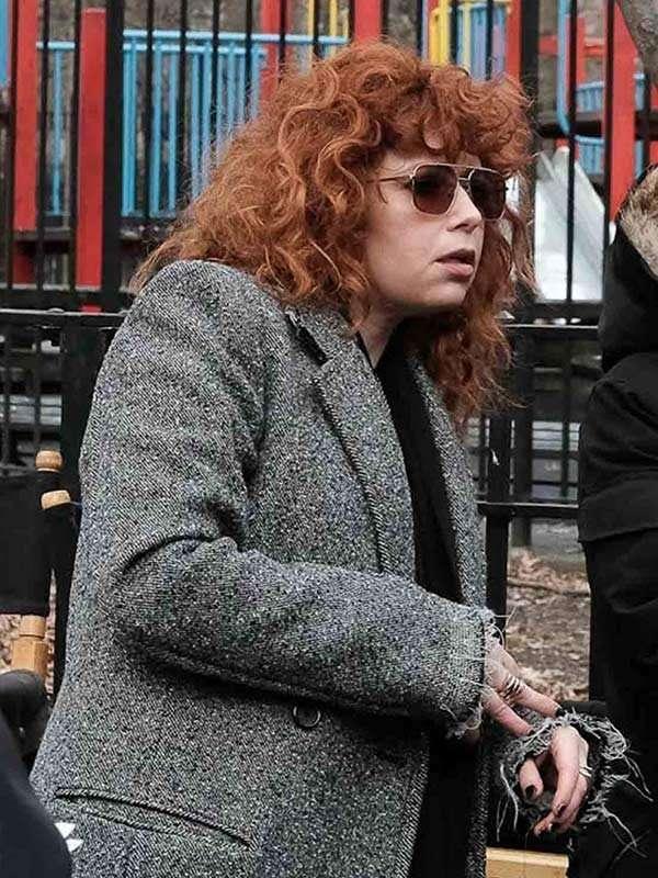Russian Doll Natasha Lyonne Wool Coat