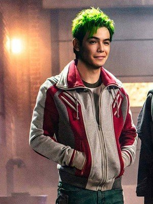 Titans TV Series Ryan Potter Bomber Jacket