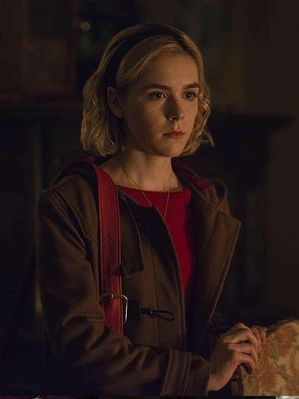 Sabrina Spellman Brown Coat