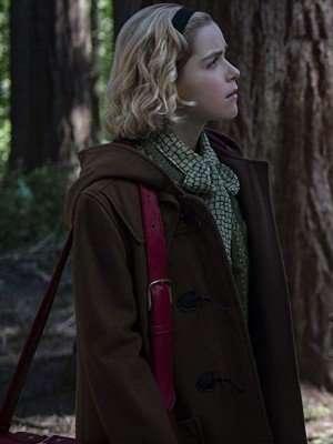 Chilling Adventures of Sabrina Kieman Shipka Wool Coat