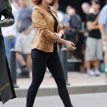 Scarlett Johansson The Avengers Black Widow Jacket