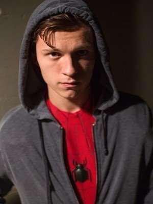 """Tom Holland Spiderman Homecoming Grey Hooded Jacket """