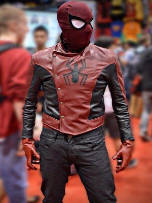 Peter Parker Spiderman The Last Stand Leather Jacket