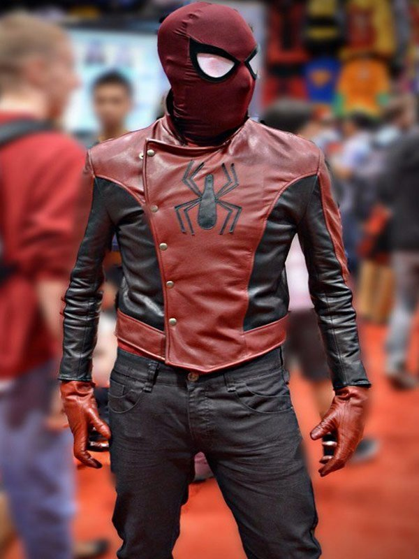 eaa7ec637 Peter Parker Spiderman The Last Stand Jacket   New American Jackets