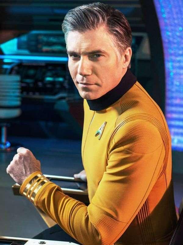 Star Trek Discovery Anson Mount Uniform Jacket