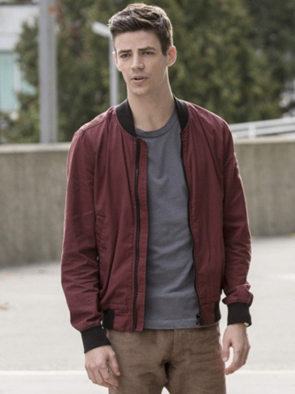 The Flash Grant Gustin Cotton Jacket