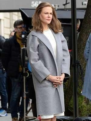 Nicole Kidman The Goldfinch Fleece Long Coat