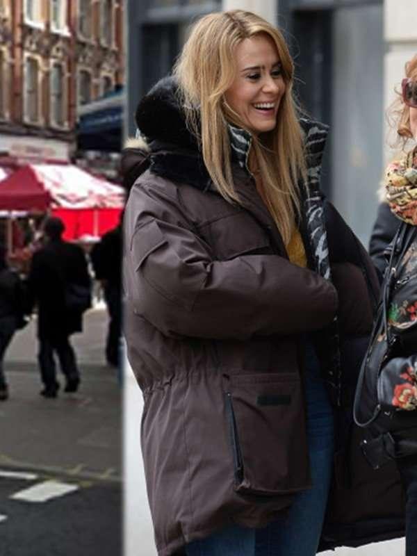 The Goldfinch Xandra Brown Parka Coat