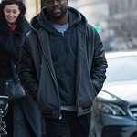 The Upside Dell Scott Black Fleece Jacket