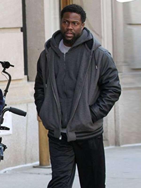 The Upside Kevin Hart Black Jacket