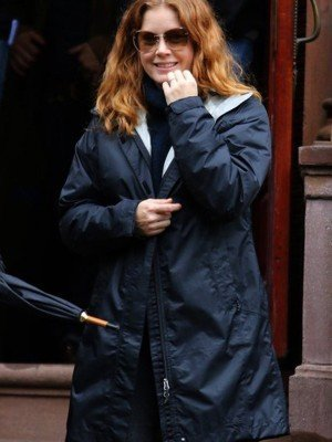 Amy Adams The Woman in the Window Blue Coat
